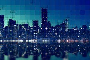 skyscrapers, city, skyscraper